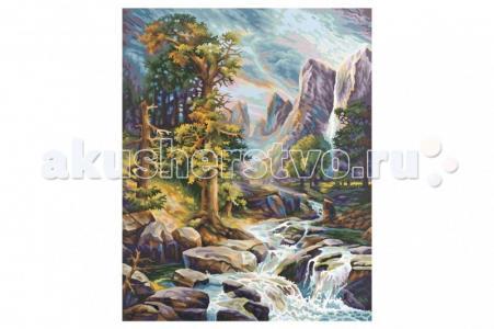 Картина по номерам Высокогорье 40х50 см Schipper