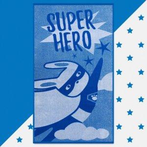 Полотенце махровое Super hero 130х70 Этель
