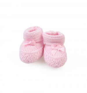 Пинетки  Лапочка, цвет: розовый Уси-Пуси