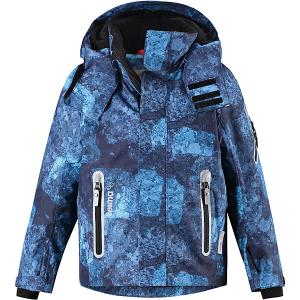 Утеплённая куртка  Regor Reima. Цвет: темно-синий