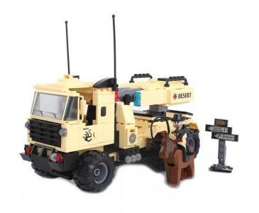 Машина с ракетной установкой (310 деталей) Enlighten Brick