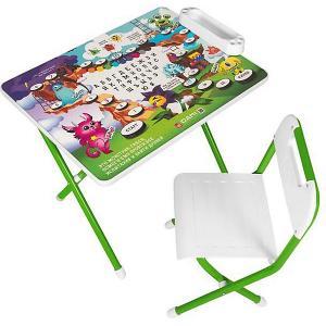 Набор детской мебели Монстры, зеленый Дэми. Цвет: зеленый