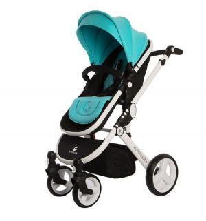 Прогулочная коляска  ST166, цвет: бирюзовый Babyruler
