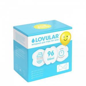 Вкладыши для груди Smile Box Hot Wind 96 шт. Lovular