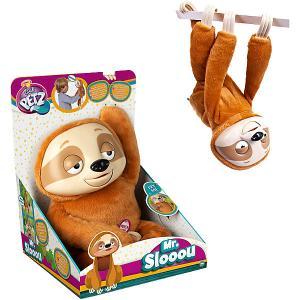 Интерактивная игрушка  Club Petz Funny Ленивец Mr Slooou IMC Toys
