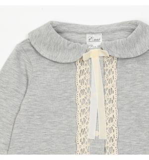 Блузка  Богема, цвет: серый Ёмаё