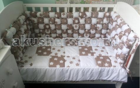 Комплект в кроватку  125 (7 предметов) Селена (Сдобина)