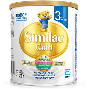 Молочная смесь  Gold 3, с 12 мес, 400 г Similac