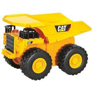 Машина CAT Строительная  техника: Самосвал Toystate. Цвет: желтый