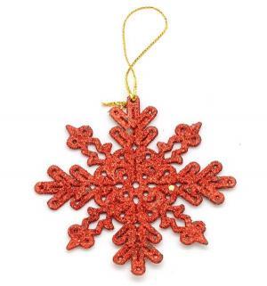 Подвесное украшение  Снежинка плоская Яркий Праздник