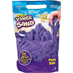 Песок для лепки Kinetic Sand большой Spin Master. Цвет: фиолетовый