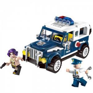 Police 2 фигурки: полицейский и бандитка (149 деталей) Enlighten Brick