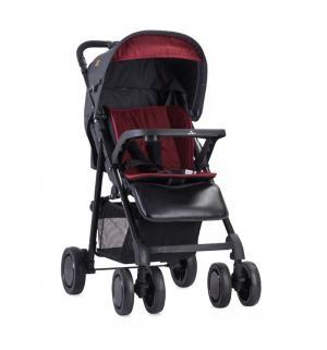 Прогулочная коляска  Aero, цвет: черный/красный Lorelli