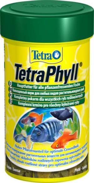 Phyll корм для всех видов рыб растительные хлопья 100 мл Tetra