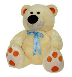 Мягкая игрушка  Медведь 59 см цвет: бежевый СмолТойс