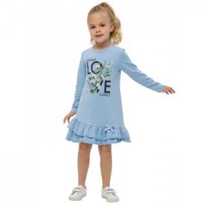 Платье для девочки Весенний букет О54693 Карамелли