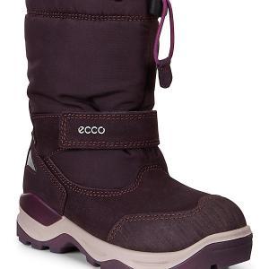 Сапоги ECCO. Цвет: бордовый/натуральный