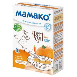 Суп  На козьем молоке тыквенный, 150 Мамако