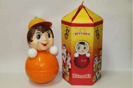 Развивающая игрушка  Неваляшка 41 см Russia