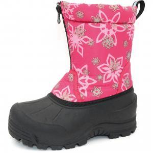 Сноубутсы для девочки Northside. Цвет: розовый