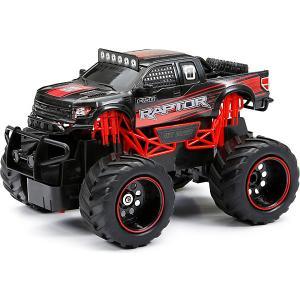 Радиоуправляемая машинка  Truck 1:24, красная New Bright. Цвет: черный/розовый