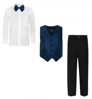 Комплект сорочка/бабочка/жилет/брюки , цвет: серый Rodeng