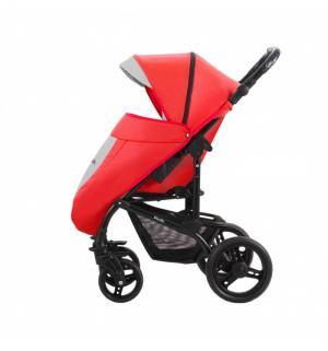 Прогулочная коляска  Picollo, цвет: красный/светло-серый Aroteam