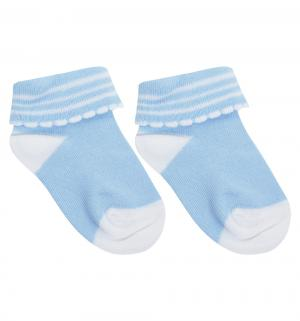 Носки, цвет: голубой Perfezione
