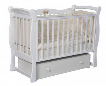 Детская кроватка  Viola 1 (универсальный маятник) Кедр