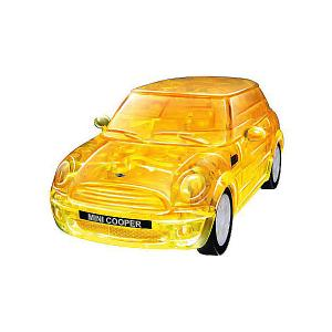 3D пазл  Мини Купер, желтый Happy Well