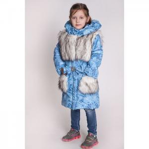 Куртка  Пушок, цвет: голубой Ursindo