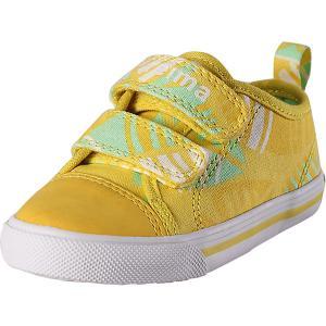 Ботинки Metka Reima. Цвет: желтый