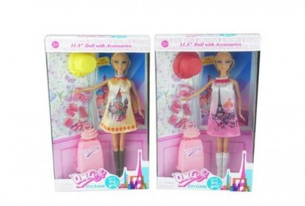 Кукла с аксессуарами Путешественница Junfa