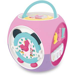 Развивающая игрушка Мультикуб Минни Маус Kiddieland. Цвет: розовый