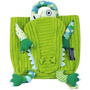 Рюкзак Deglingos Aligatos  Alligator зеленый. Цвет: зеленый
