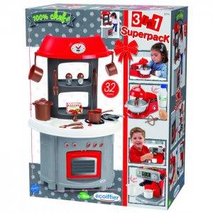 Игровой набор Кухня 3в1 Ecoiffier