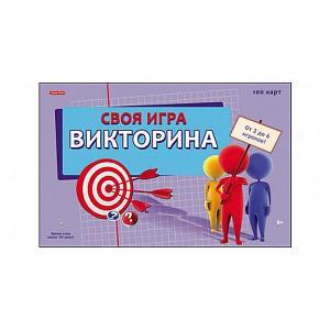 Викторина Своя игра 100 карточек Рыжий кот
