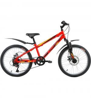 Двухколесный велосипед  MTB HT 20 Disc, цвет: красный Altair