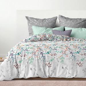 Комплект постельного белья  Дыхание, 2-спальное Романтика. Цвет: белый