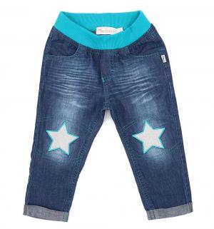 Джинсы  Рок звезда, цвет: синий MM Dadak