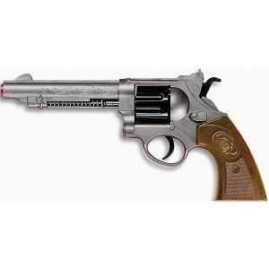 Пистолет  Western-Line West Colt, 28 см Edison. Цвет: серый