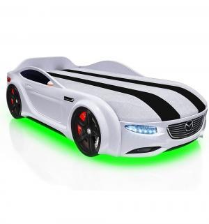 Кровать-машина  Junior Cx5, цвет: белый Romack