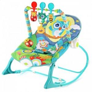 Шезлонг детский с игрушками Сова Ути Пути