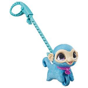 Мягкая игрушка FurReal Friends Маленький питомец на поводке Обезьянка Hasbro. Цвет: разноцветный