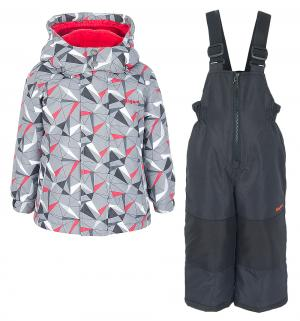 Комплект куртка/полукомбинезон , цвет: серый Zingaro By Gusti