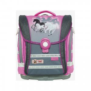 Школьный рюкзак Настроение MC Neill  ERGO Light COMPACT McNeill. Цвет: розовый/антрацит
