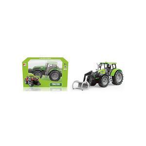 Трактор  с ковшом QunXing Toys