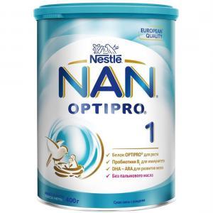 Молочная смесь  Optipro 1 0-6 месяцев, 400 г Nan
