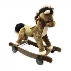 Каталка  мягкая Лошадка качалка Toyland