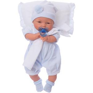 Кукла Габи в голубом, 37 см, Munecas Antonio Juan. Цвет: синий